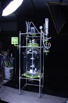 200L雙層玻璃反應釜生產廠家價格