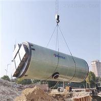 定制玻璃钢一体化泵站上海厂家热销