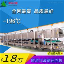 隧道式液氮速冻机/海鲜水产速冻/食品冷冻机