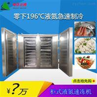 柜式液氮速冻机饺子冷冻机/急速冷冻设备