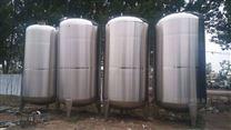 定制加工卧式不锈钢储罐、玻璃水纯净水储罐