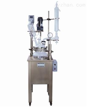 GDF-10L 中型单层玻璃反应釜