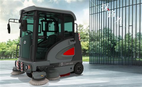 高美智慧型驾驶式扫地车