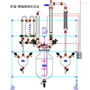 S212-20L蒸馏中试玻璃精馏装置