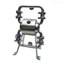 卫生级不锈钢气动隔膜泵 高粘度物料输送泵