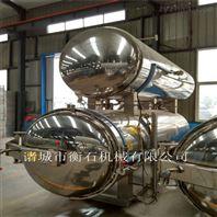 HS900衡石海產品多味魚牡蠣罐頭噴淋殺菌鍋