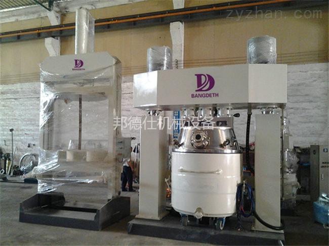 东莞100L强力分散机 中性耐候胶生产设备