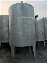 梁山低价出售二手10立方的不锈钢储罐