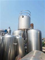梁山二手40平方的立式不锈钢储罐