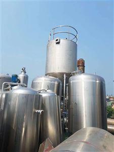 二手10立方的不锈钢搅拌储罐