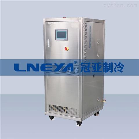 无锡冠亚  配套玻璃反应釜 螺杆冷冻机