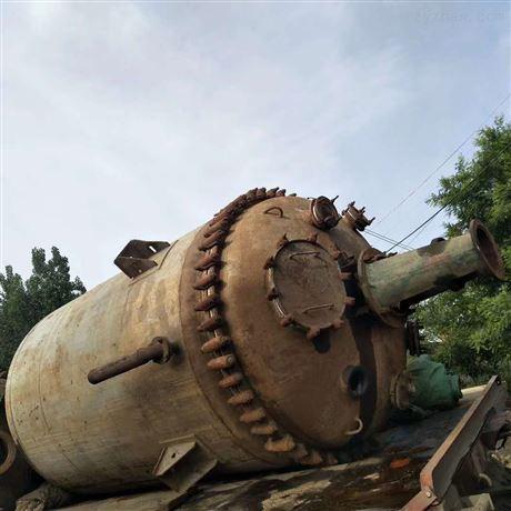 耀辉6吨搪瓷反应釜