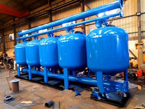 PLC控制DN500浅层砂过滤器结构