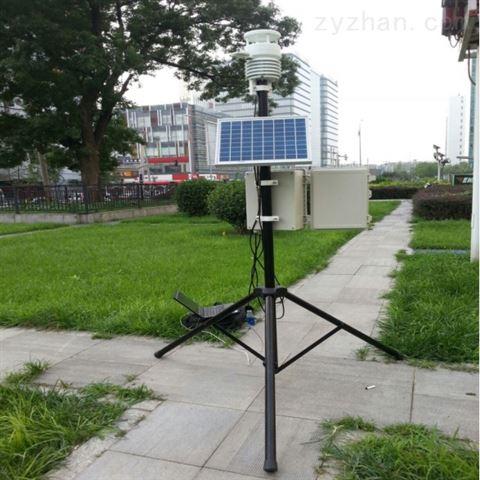 农田种植超声波便捷式气象自动监测站