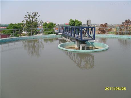 半桥周边传动刮泥机安装