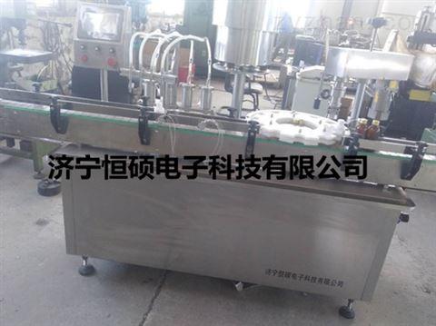 四頭液體灌裝咋螺紋蓋機價格型號廠家