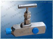 超高压不锈钢压力表针型阀