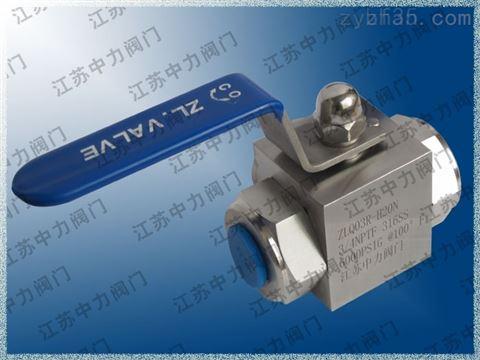 CNG手动型天然气高压球阀