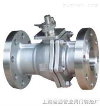 不锈钢浮动球阀,不锈钢法兰球阀,两片式法兰球阀,Q41F