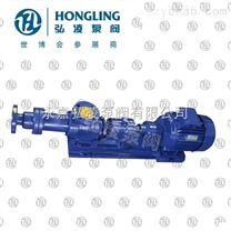 I-1B1寸濃漿泵,泥漿泵,污泥螺桿泵