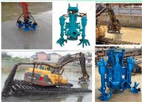 挖掘机驱动清淤泵|挖机泥沙泵|液压抽沙泵