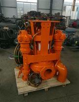 挖掘机抽沙泵-铰刀装配在泵体两侧