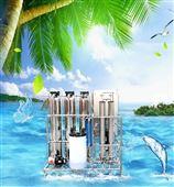 贵阳伊怀普道0.5吨2罐手自动净水反渗透设备