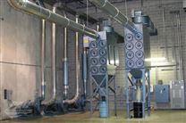 旁插式脉冲滤筒除尘器脉冲气流喷吹使用特性