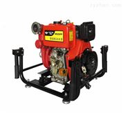 2.5寸手推式移動柴油機消防自吸水泵