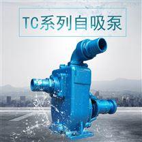 4寸河道抽水泵增壓泵臥式自吸泵