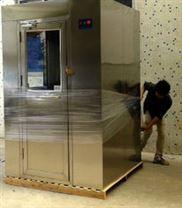 重庆不锈钢双人双吹风淋室规格价格报价