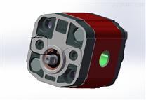 工控液壓站用進口雙向齒輪泵X0R0710BZZE