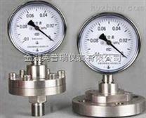 脱硫用不锈钢隔膜压力表