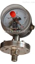 螺纹安装式隔膜压力表