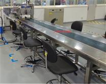 訂做柔性鏈板輸送機,衛生級鏈片輸送線