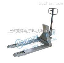 亚津带打印叉车秤带称叉车物品测量防水电子叉车秤