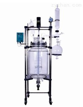 大型双层玻璃反应釜30L