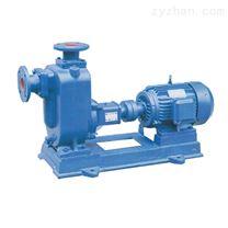 自吸式渦流無堵塞排污泵