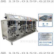 立式液体两头灌装机 小型液体定量灌液机