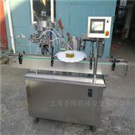 杭州小型液体定量灌装机视频圣刚