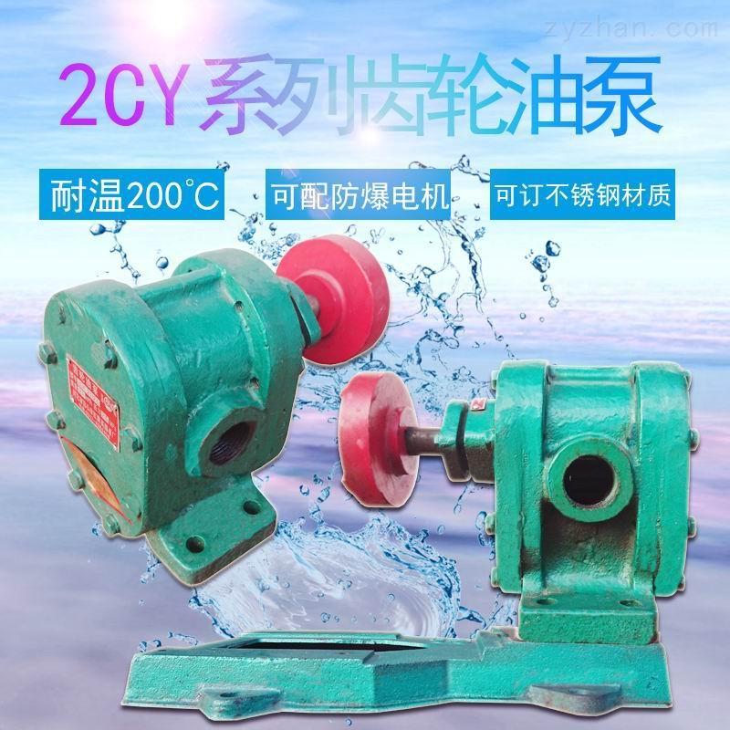 2CY系列热油输油泵齿轮油泵