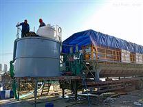 泥浆固化脱水机/打桩泥浆集成式压滤机安装