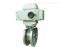 LR05SV电子式电动V型调节球阀