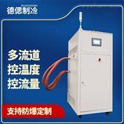 100l雙層玻璃反應釜配套高低溫循環一體機