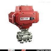 VT1LEC33A电动三片式卫生级快装球阀