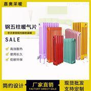 电厂钢五柱散热器-gz509钢管柱型暖气片样品