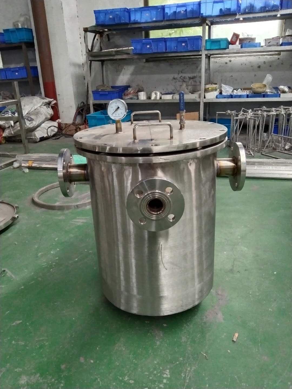 不锈钢保温篮式过滤器