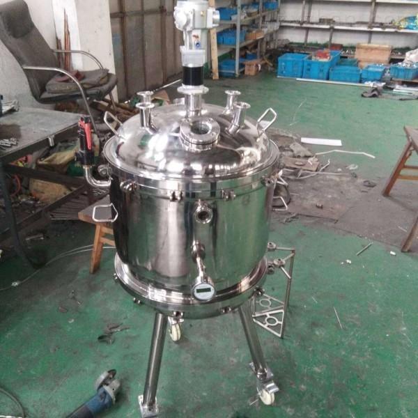 全封闭不锈钢气动搅拌过滤器如何固液分离(粗虑和精虑)