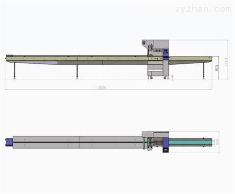 佛山食品包装机剑自动款薄膜封口机操作