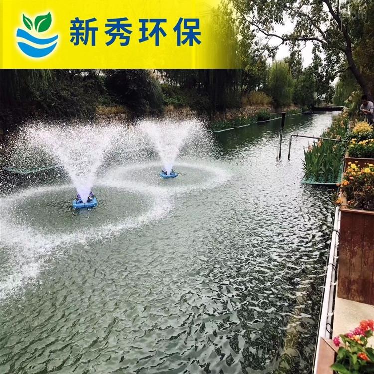 喇叭式提水喷泉曝气机